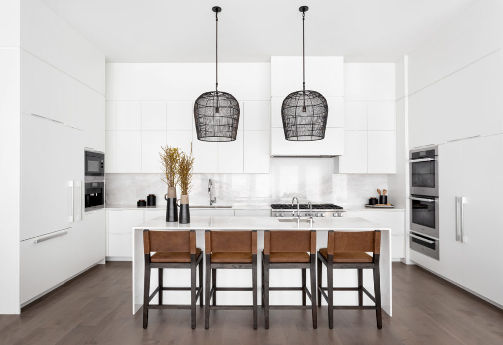 White Kitchen Condo